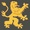Logo Löwe grau