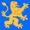Logo Löwe hellblau