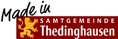 Logo Made in - Samtgemeinde Thedinghausen